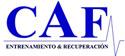 CAF Entrenamiento & Recuperación en Zaragoza Logo